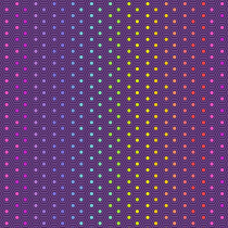 Tula Pink True Colors Hexy Rainbow Starling Purple By Free Spirit Fabric