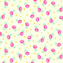 PRE-ORDER Tula Pink Curiouser and Curiouser Baby Buds Sugar Cream By Free Spirit Fabric
