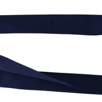 "30mm (1-3/8"") V Fold 100% Cotton Quilt Binding Navy Blue"