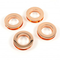 "Emmaline Bags Screw Together Grommets 20mm (3/4"") Round in Copper - 4pk"