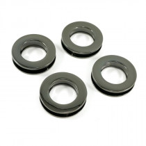 "Emmaline Bags Screw Together Grommets 20mm (3/4"") Round in Gunmetal - 4pk"