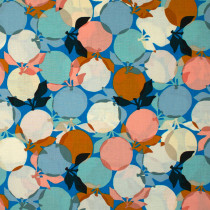 Ruby Star Society Clementine Fruit Bright Blue by Moda Fabrics