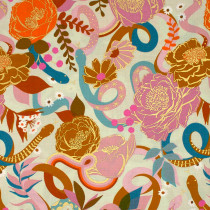 Ruby Star Society Rise Dream (Flowers and Snakes) Shell by Moda Fabrics