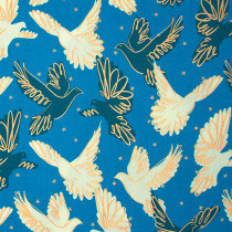Ruby Star Society Rise Fly Bright Blue by Moda Fabrics