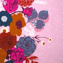 Ruby Star Society Rise Shine Double Border Peony by Moda Fabrics
