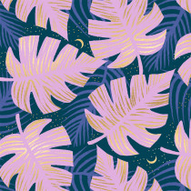 Ruby Star Society Florida Shade Palms Peacock by Moda Fabrics