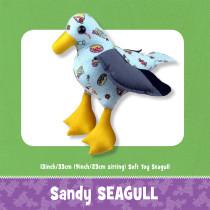 Sandy Seagull Toy Pattern