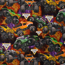 Monster Jam Packed Monster Trucks Multi by Print Concepts Inc