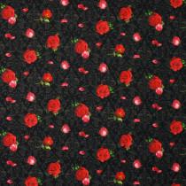 Elegant Roses Black by Print Concepts Inc