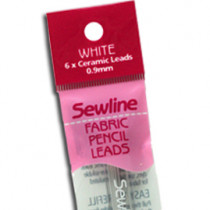 Sewline Fabric Pencil Ceramic Leads White