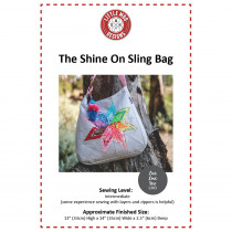 The Shine On Sling Bag Sewing Pattern by Little Moo Designs