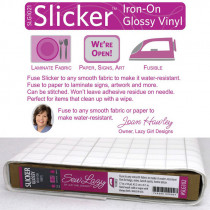 Slicker Iron On Glossy Vinyl by Lazy Girls Design