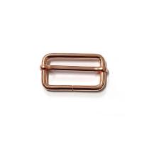 """Voodoo Bag Hardware Slide Adjusters 40mm (1-1/2"""") Copper 2pk"""