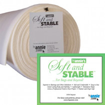 "ByAnnie's Soft and Stable Foam Stabiliser 58"" (147cm) Wide White"