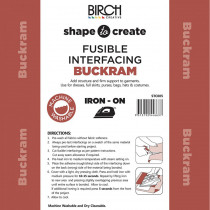 Buckram Heavy Weight Fusible Interfacing 90cm wide