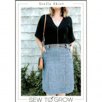Stella Skirt Sewing Pattern by Sew To Grow