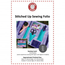 Stitched Up Sewing Folio Sewing Pattern by Little Moo Designs