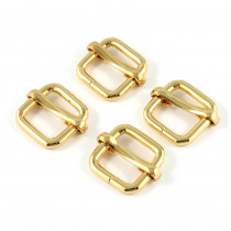 "Emmaline Bags Slide Adjusters 12mm (1/2"") Gold - 4pk"