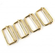 "Emmaline Bags Slide Adjusters 40mm (1-1/2"") Gold - 4pk"