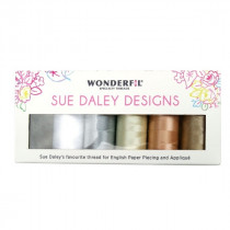 Sue Daley Wonderfil Thread Pack Neutrals