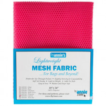 Mesh Fabric Light Weight - Lipstick from by Annie