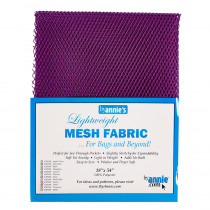 Mesh Fabric Light Weight - Taihiti Purple from by Annie