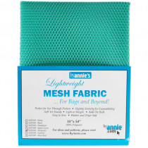 Mesh Fabric Light Weight - Turquoise from by Annie