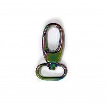 "Voodoo Bag Hardware Swivel Snap Hook 25mm (1"") Iridescent Rainbow 2pk"