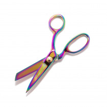 "Tula Pink 6"" Bent Trimmer Micro Serrated Scissors"