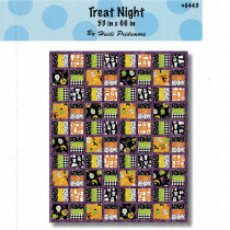 Treat Night Quilt Pattern Quilt Sewing Pattern from The Whimsical Workshop