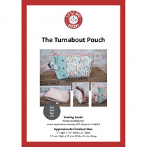 Turnabout Pouch Sewing Pattern by Little Moo Designs
