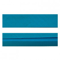 "25mm (1"") Single Fold 100% Cotton Bias Binding Turquoise"