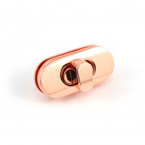 Emmaline Bags Twist Lock w/Screws Copper (Rose Gold)