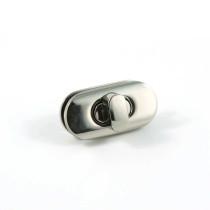 Emmaline Bags Twist Lock w/Screws Silver