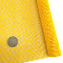 "Vinyl Bag Mesh 18"" x 36"" (46cm x 91.5cm) - Yellow"