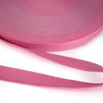 "Polypropylene Webbing - 25mm (1"") Pink"