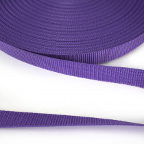 "Polypropylene Webbing - 25mm (1"") Purple"