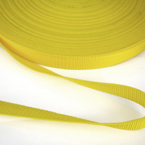 "Polypropylene Webbing - 25mm (1"") Yellow"
