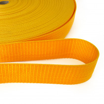 "Polypropylene Webbing - 40mm (1-1/2"") Gold"