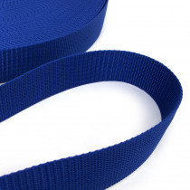 "Polypropylene Webbing - 40mm (1-1/2"") Royal Blue"