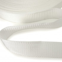"Polypropylene Webbing - 40mm (1-1/2"") White"