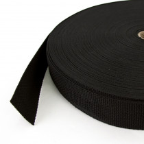 Polypropylene Webbing – 38mm Black scale reference