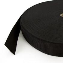 Polypropylene Webbing – 38mm Black scale reference