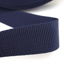 "Polypropylene Webbing – 40mm (1-1/2"") Navy Blue"