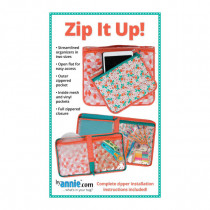 Zip It Up Sewing Pattern byAnnie