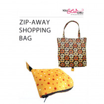Zip-Away Shopping Bag by You Sew Girl