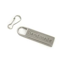 Emmaline Bags Zipper Pull: Handmade Silver