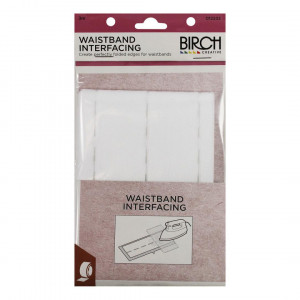Birch Creative Fusible Waistband Interfacing 3m Pack