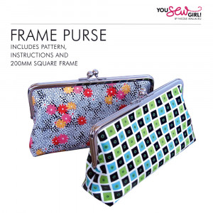 Square Purse Frame Pattern