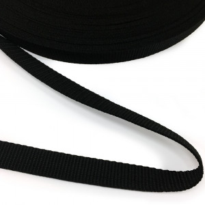 "Polypropylene Webbing - 20mm (3/4"") Black"